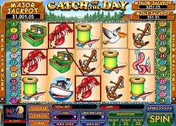 Play Now Catch of the Day Slots!