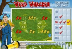 Weed Whacker Scratch Card